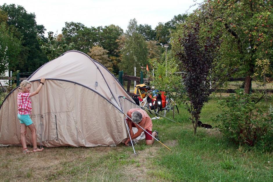 Couchsurfen für Zelte