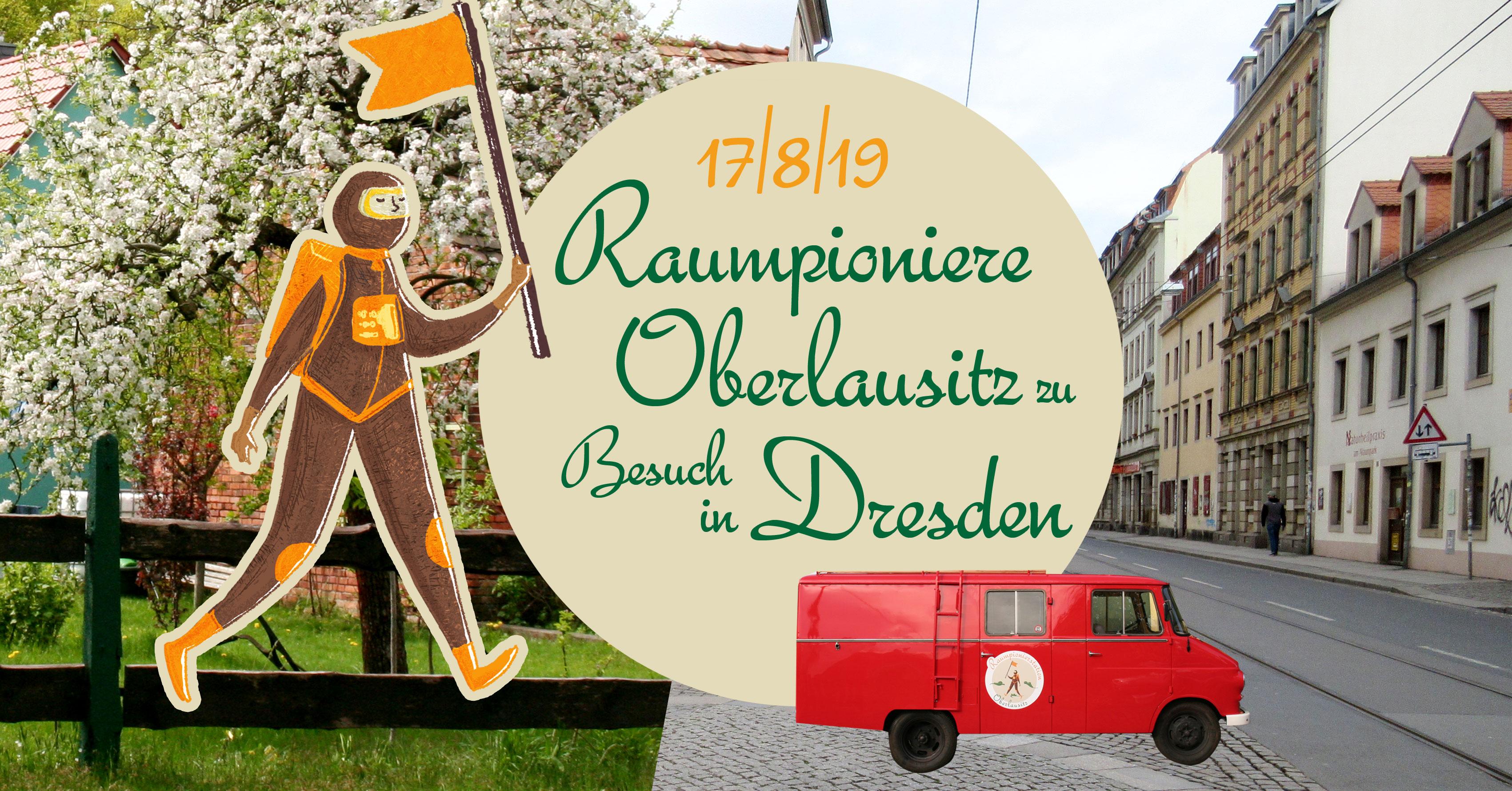 Raumpioniere zu Besuch in Dresden